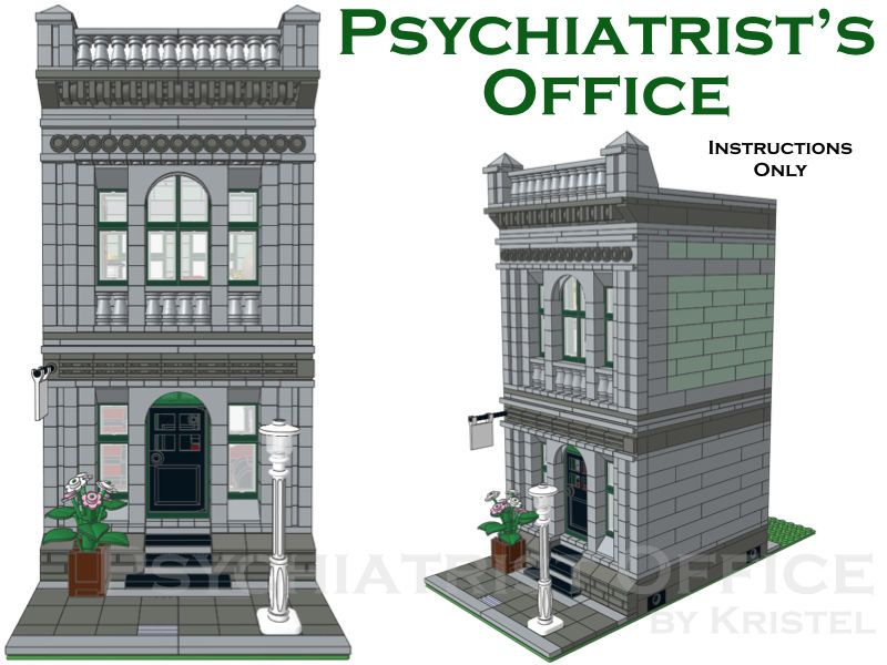 lego office building instructions