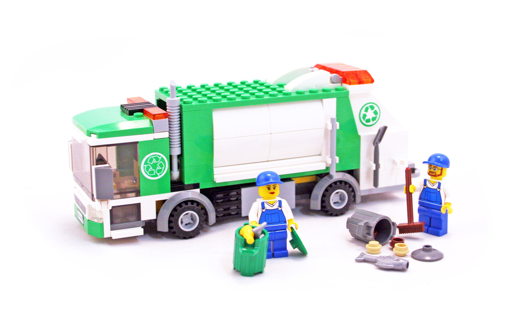 lego recycling truck 4432 instructions
