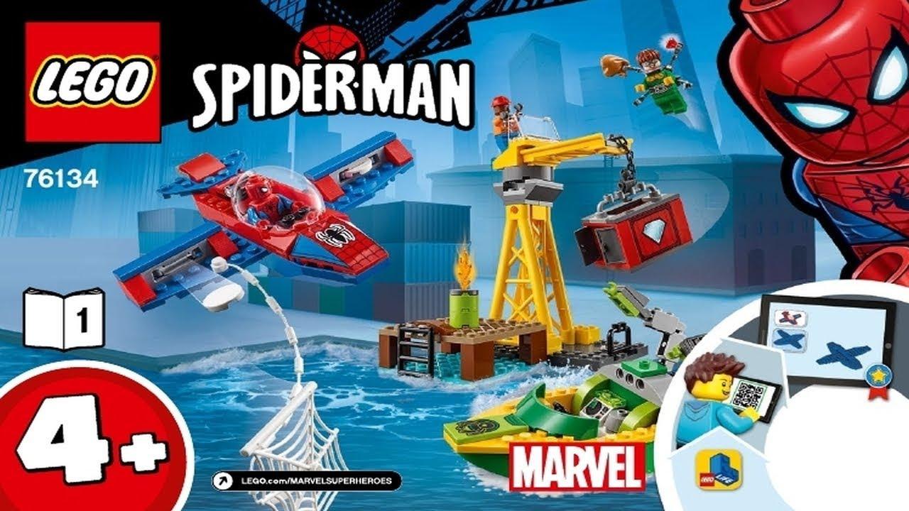 lego spiderman doc ock ambush instructions