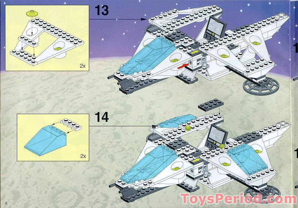 lego starship enterprise instructions