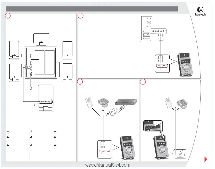 Logitech z 5500 manual pdf