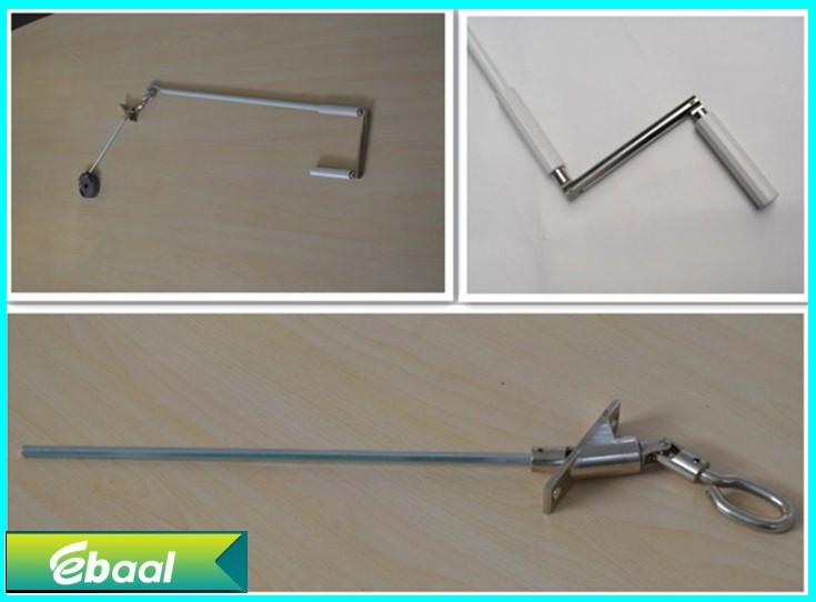 manual crank handle for roller shutters