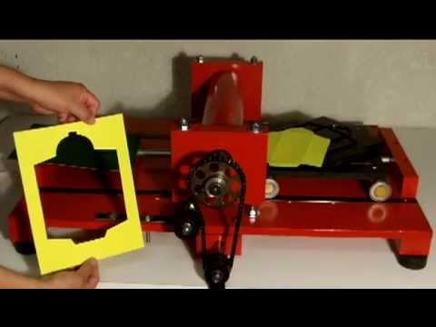 Maquina troqueladora manual argentina