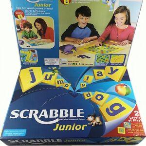 mattel junior scrabble instructions
