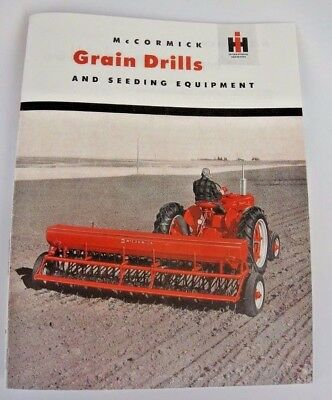 Mccormick mf grain drill manual