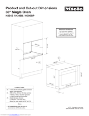 miele oven h 4884 bp manual