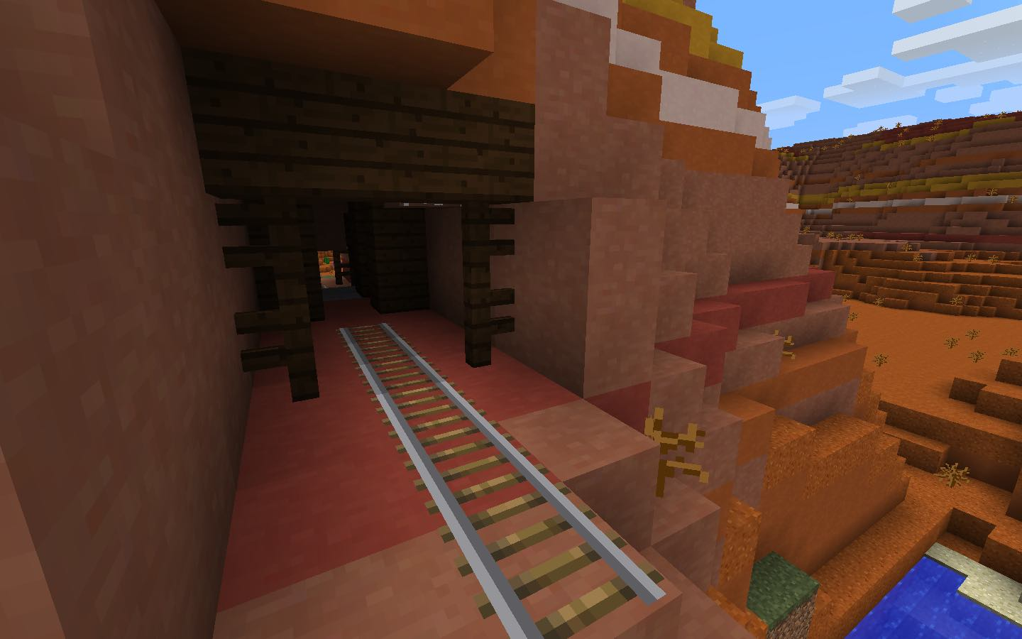 Minecraft how to find abandoned mine shafts