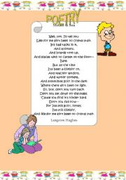 Mother to son poem pdf