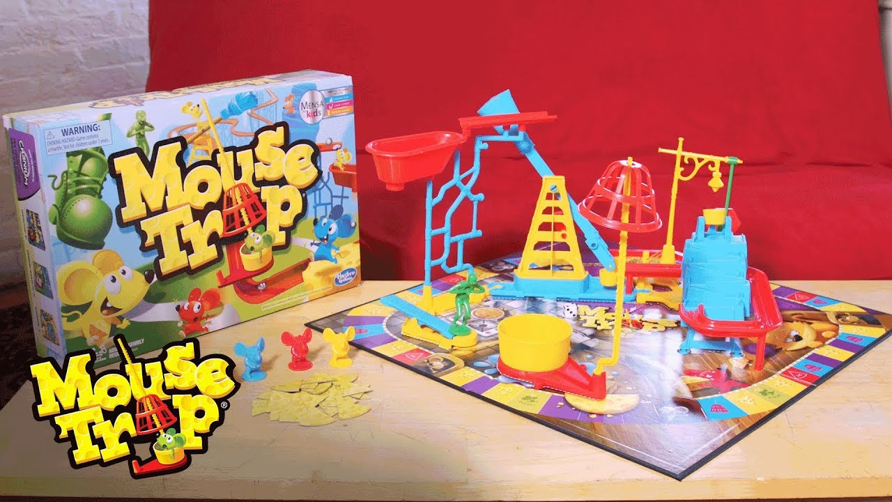 Mouse trap game instructions how to build