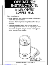 mr coffee press instructions
