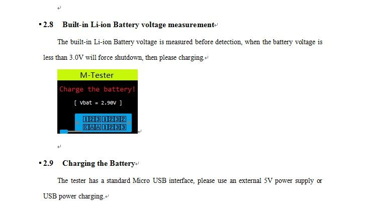 multifunction tester tc1 instructions