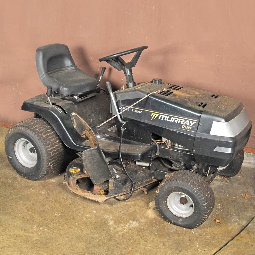 murray select 42 riding mower manual