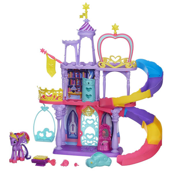 My little pony castle instructions