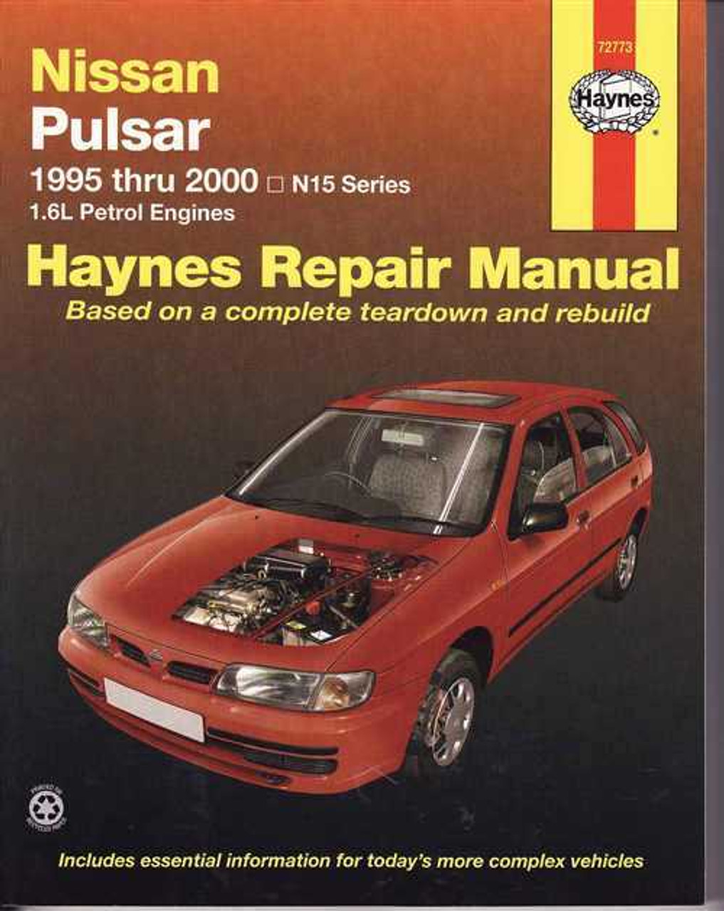 nissan pulsar n15 workshop manual