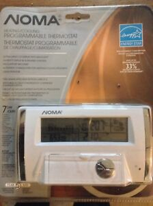 Noma programmable thermostat manual thm501