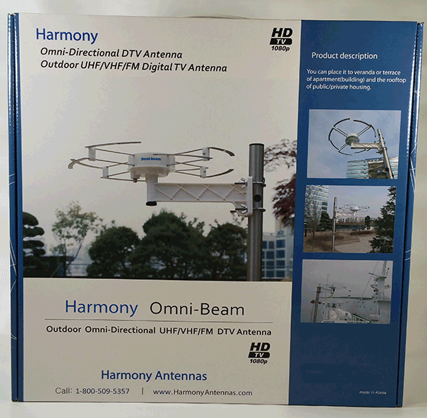 omni-directional uhf vhf digital tv antenna instructions