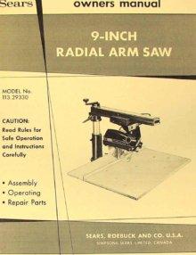 operator manual craftman 10 29