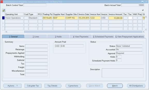 oracle accounts payable training manual