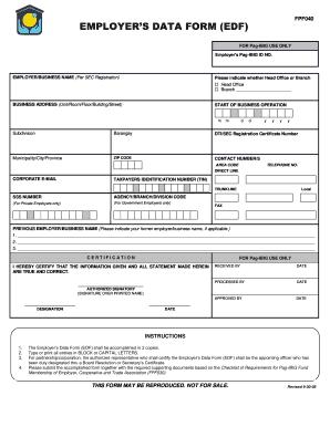 Pag ibig online membership application form