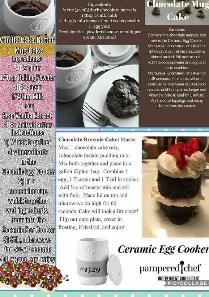 pampered chef ceramic egg cooker instructions