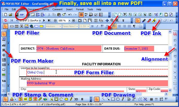 Pdf fill tools free download