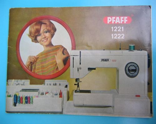 pfaff 1222 instruction manual