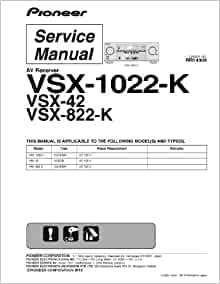 Pioneer vsx lx101 advanced manual