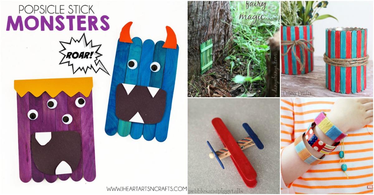 popsicle stick crafts instructions