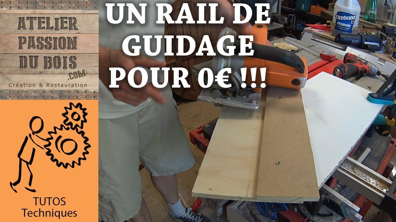 Rail guide pour scie circulaire