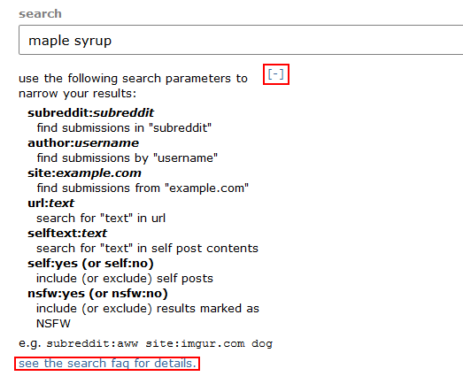 Reddit how to search by tag