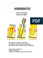 Root canal treatment steps pdf