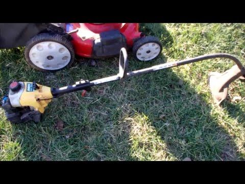 ryobi trimmer line replacement instructions