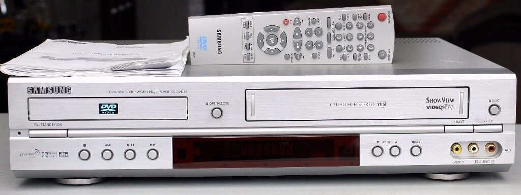 Samsung dvd recorder and vcr dvd vr357 manual