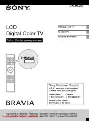 sony bravia kdl-46nx700 manual