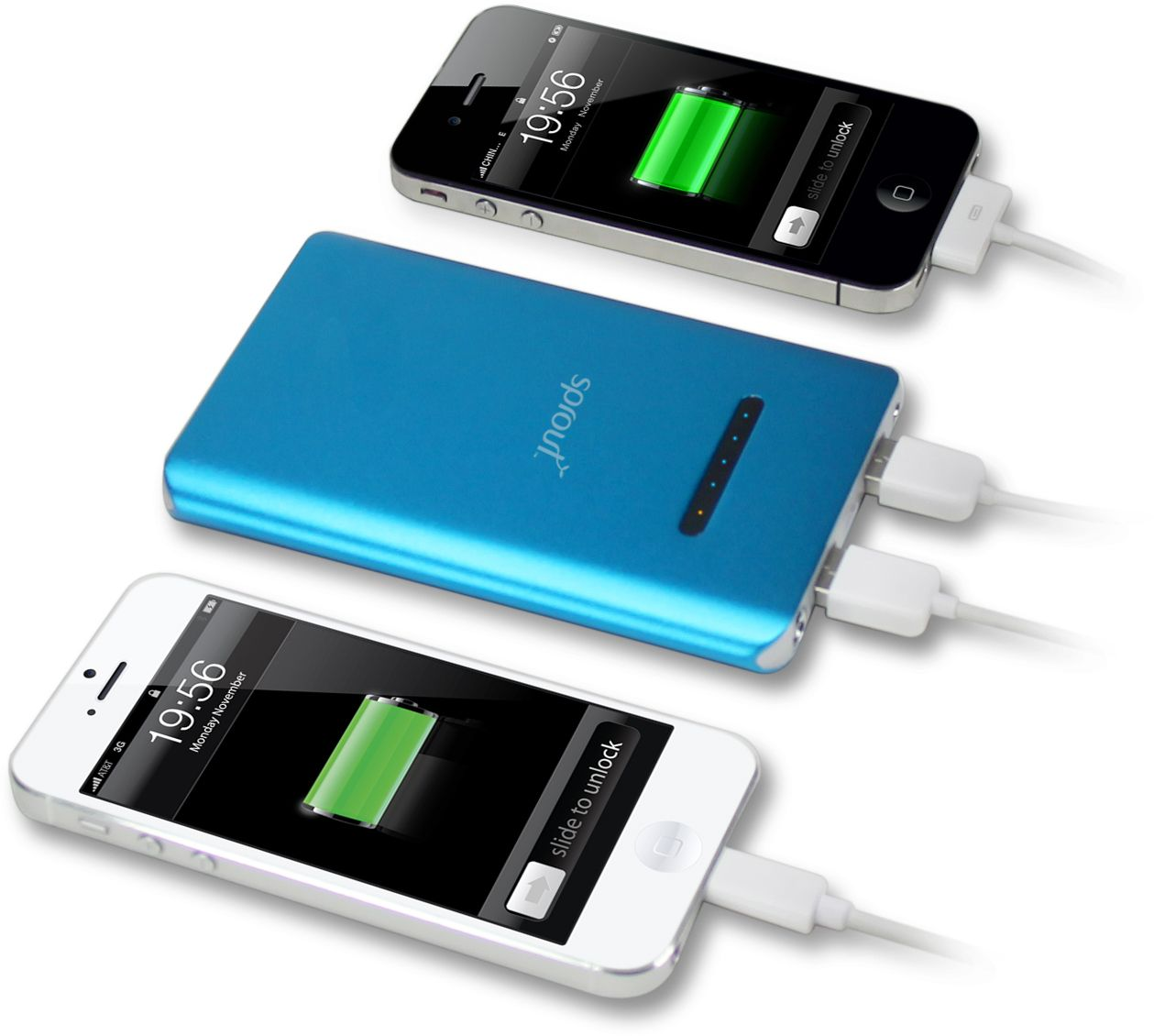 sprout portable charger instructions