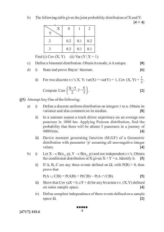 State and prove bayes theorem pdf