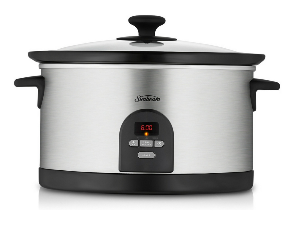 sunbeam slow cooker manual hp5590