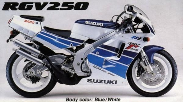 suzuki rgv250 vj22 workshop manual