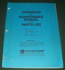 Taylor dunn b2 48 manual