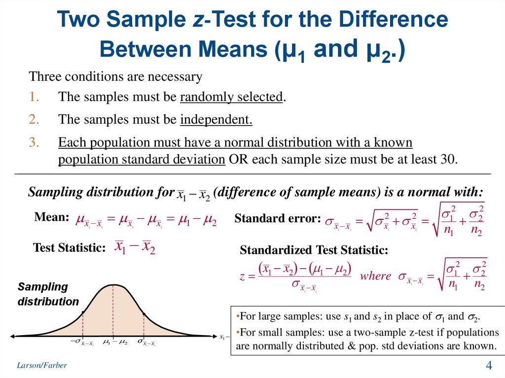Test of difference biology statistics handbook