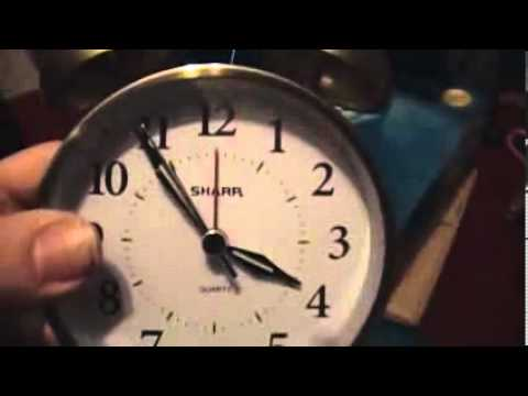 Twin bell alarm clock instructions