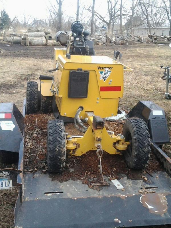 vermeer sc252 stump grinder manual