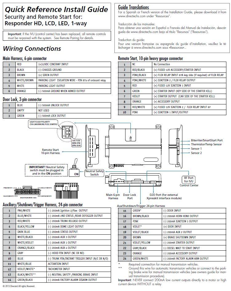 Viper 4806v installation manual pdf