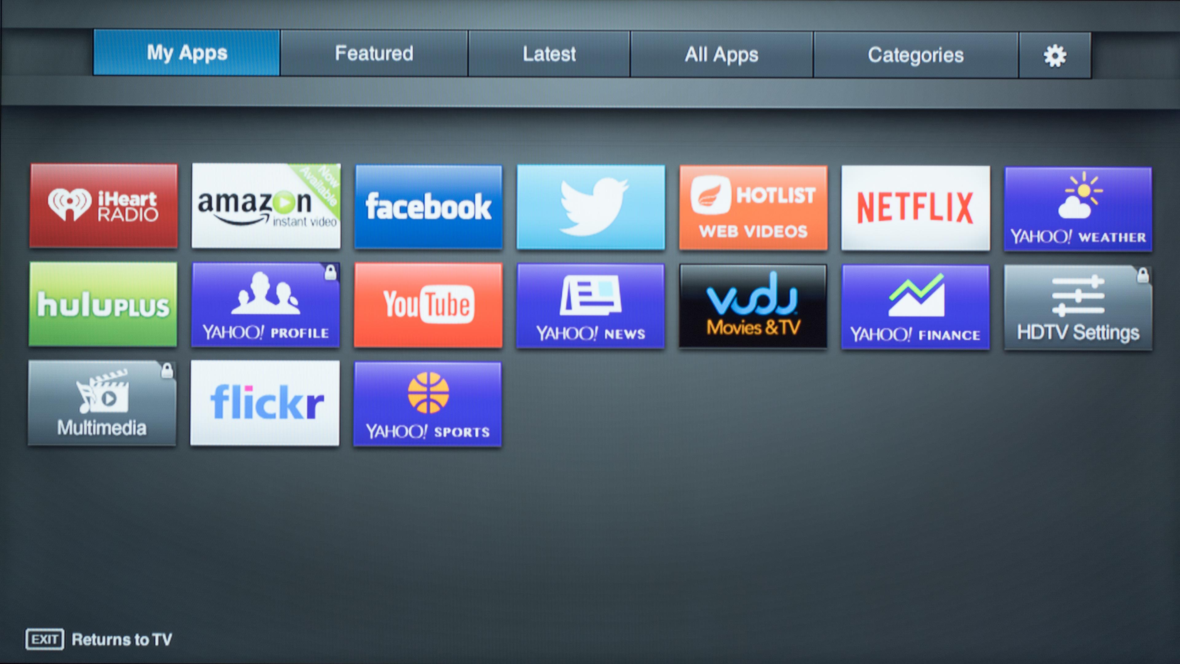 Vizio smart tv channel guide