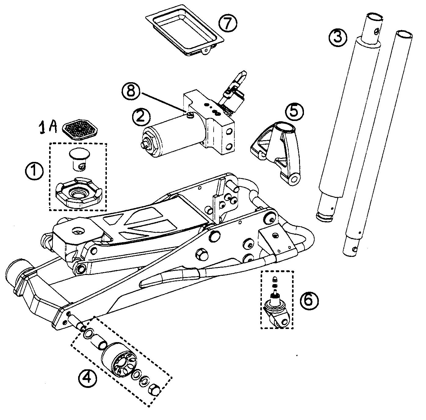 Walker hydraulic jack repair manual