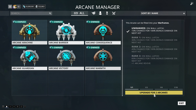 Warframe arcane energize how to get