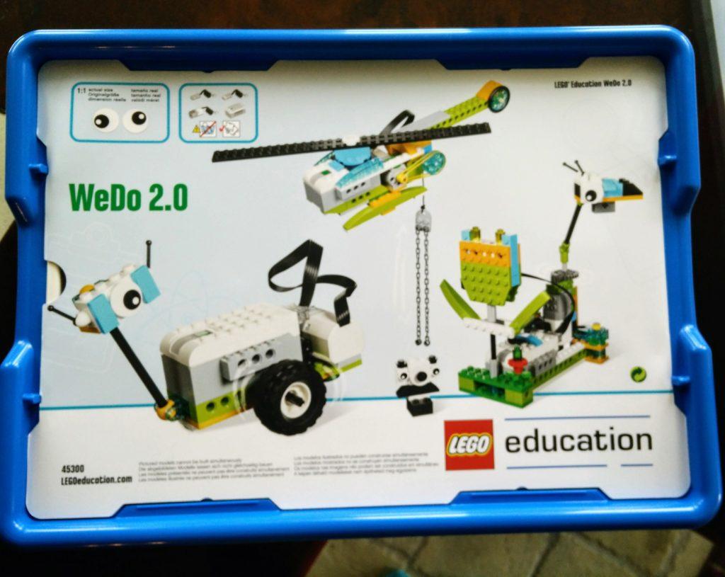 wedo 2.0 horse building instruction