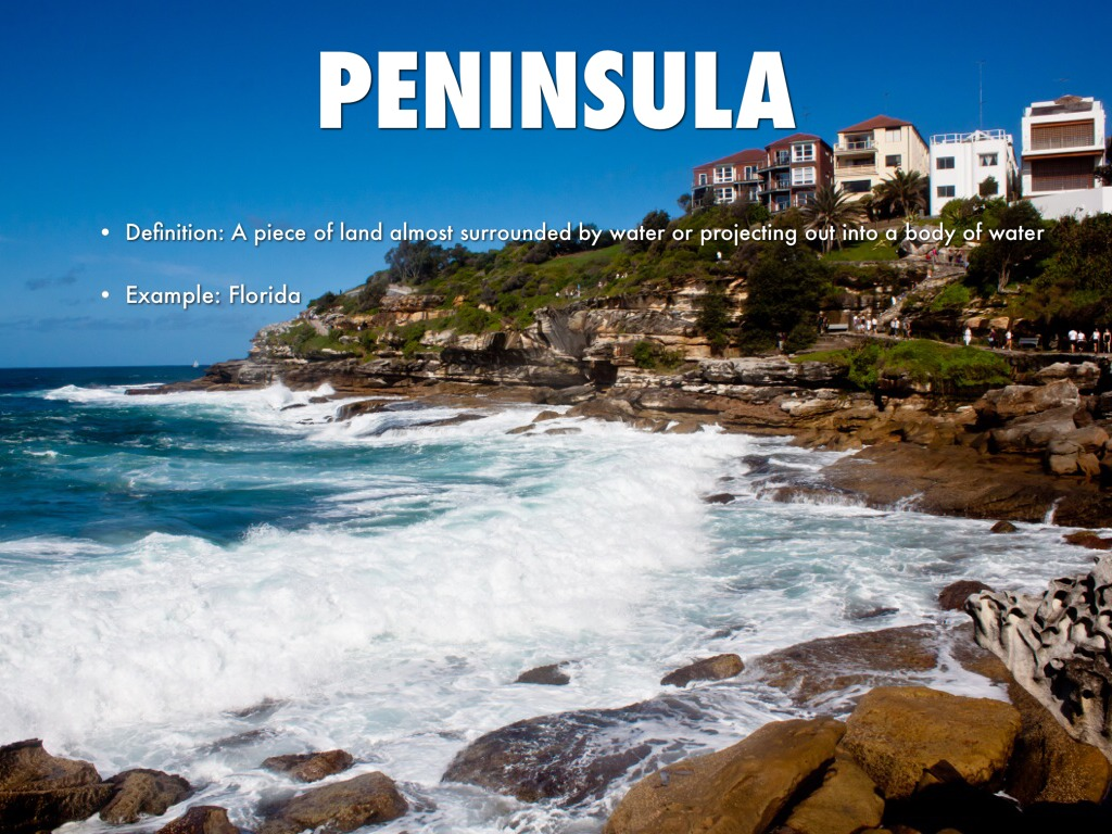 Which of the following is an example of a peninsula