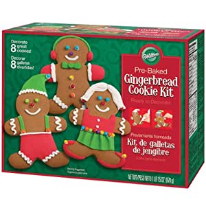 wilton gingerbread cookie kit instructions