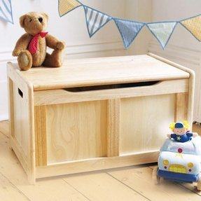 wood toy box instructions